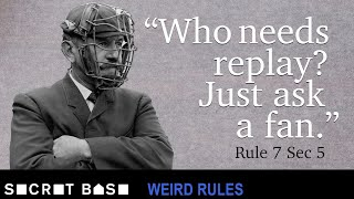 Download Early MLB had very dumb rules and teams ready to take advantage of them | Weird Rules Video