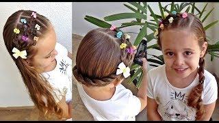 Download Penteado Infantil com raminho de flores Video