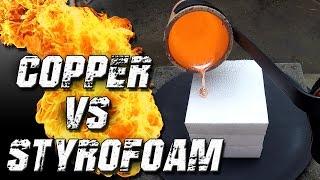 Download Molten Copper vs Styrofoam Video