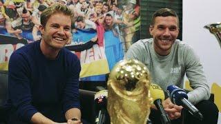 Download Best Of: Nico Rosberg und Lukas Podolski in Köln Video