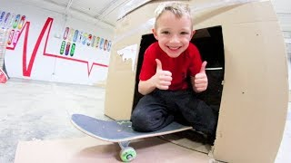 Download Father & Son ULTIMATE FORT AT THE SKATEPARK! Video