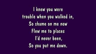 Download Taylor Swift - I Knew You Were Trouble Lyrics (HD) Video