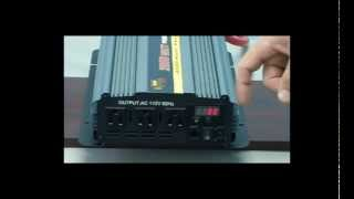 Download Power Inverters - 2000 Watt Power Inverter Video
