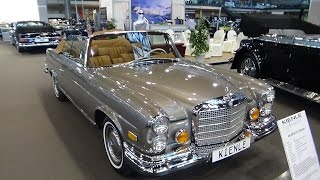Download 1971 Mercedes-Benz 280 SE 3.5 Cabriolet - Exterior and Interior - Retro Classics Stuttgart 2017 Video