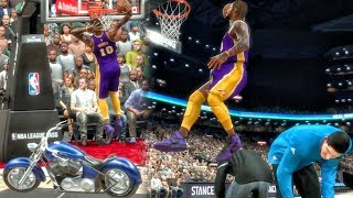 Download JUMPING OVER EVERYTHING IN DUNK CONTEST! NBA 2K17 My Career Gameplay Ep. 50 Video