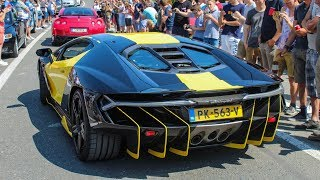 Download Supercars leaving a CarShow | Cars And Coffee Belgium 2018 [Kortrijk] Video