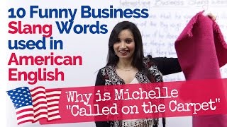 Download 10 Business English Slang Words used in daily Spoken English – US/American English Video