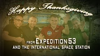 Download Expedtion 53 Thanksgiving Message Video