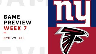 Download New York Giants vs. Atlanta Falcons | Week 7 Game Preview | Pro Football Focus Video