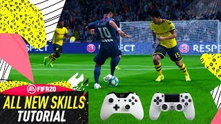 Download FIFA 20 ALL NEW INSANE SKILLS - LEARN THE NEW OVERPOWERED LISTED & HIDDEN MOVES! Video