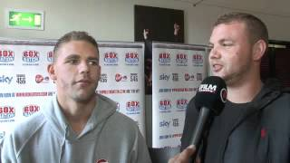 Download BILLY JOE SAUNDERS & TOMMY SAUNDERS INTERVIEW FOR iFILM LONDON / SAUNDERS v HILL Video