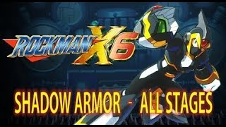 Download Mega Man X6 - Shadow Armor Playthrough (All Stages) No Damage - Xtreme Mode Video