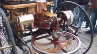 Download The first car ever running live! The Benz Motorwagen (1885) Video