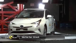Download Euro NCAP Crash Test of Toyota Prius 2016 Video