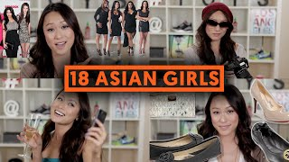 Download 18 TYPES OF ASIAN GIRLS Video