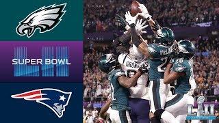 Download Eagles vs. Patriots | Super Bowl LII Game Highlights Video