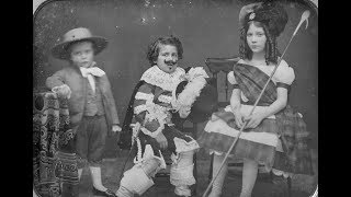 Download American Daguerreotype Portraits of Children in the 1840's and 1850's Video