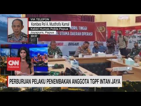 TNI - Polri Buru KKB Penembak Anggota TGPF