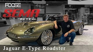 Download Foose Design Jaguar E-Type Roadster - The Reveal! Video