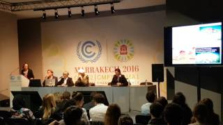 Download COP22 - Ocean and Climate Forum - Lisa Levin (Scripps Institution) Video