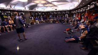 Download Ryan Smyth addresses team in locker room Video