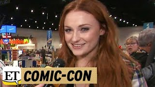 Download EXCLUSIVE: 'Game of Thrones' Star Sophie Turner Brings 'Amazing Accessory' Joe Jonas to Comic-Con Video