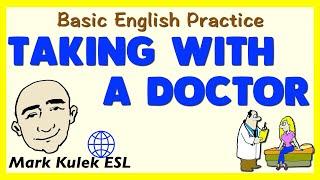 Download Visiting A Doctor | Basic Conversation Practice | ESL | EFL Video