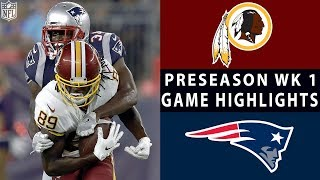 Download Redskins vs. Patriots Highlights | NFL 2018 Preseason Week 1 Video
