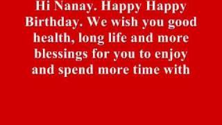 Download Nanay's Birthday Video