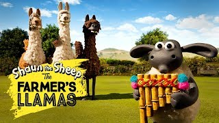 Download Bagian 1: Llama Pak Tani [The Farmer's Llamas Part 1] | Shaun the Sheep Video