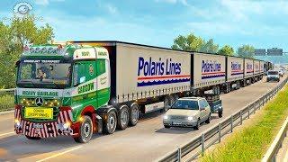 Download ROAD TRAIN LONG Trailer ETS2 (Euro Truck Simulator 2) Video