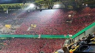 Download Amazing 12 000 fans of Union Berlin in Dortmund 26/10/2016 Video