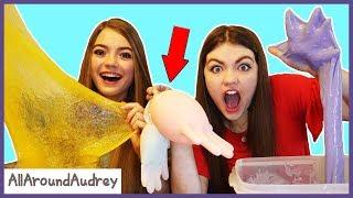 Download Mystery SLIME Glove Challenge! / AllAroundAudrey Video