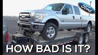 Download SALVAGE AUCTION 2011 Ford F350 - 6.7 Powerstroke NO START! Video