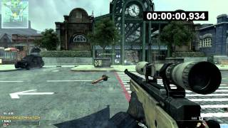 Download MW3: FASTEST KILL EVER: 0.934 sec!! First Blood   WORLD RECORD Video