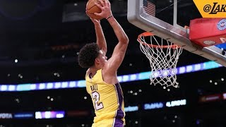 Download Lonzo Ball Catches Alley Oop! Exits Game Injury, NBA Preseason 2017 Video