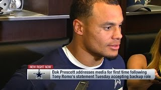 Download Dak Prescott Responds to Tony Romo's Statement on Cowboys & QB Situation | NFL Video
