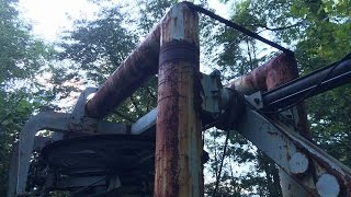Download Abandoned Fun Mountain theme park Gatlinburg TN Actually found the top of abandoned chair lift.. Video