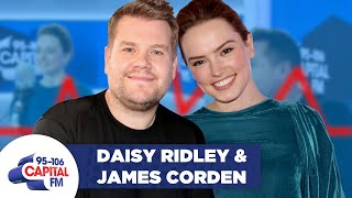 Download James Corden and Daisy Ridley take the 'LIE DETECTOR CHALLENGE' Video