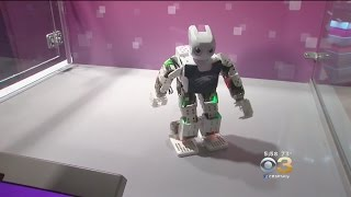 Download The Franklin Institute Unveils New Robot Exhibit Video