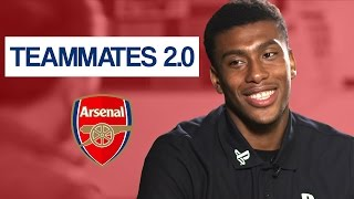 Download Who is the teacher's pet at Arsenal? | Alex Iwobi Teammates Video