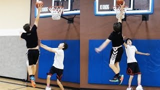 Download JESSER DUNKED ON ME! 1 VS 1 AGAINST JESSERTHELAZER GONE WRONG Video
