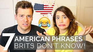Download 🇺🇸 AMERICAN Phrases BRITS Don't Understand! 🇬🇧| American vs British Video