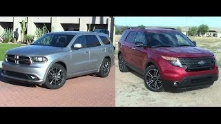 Download 2014 Dodge Durango vs 2014 Ford Explorer Video