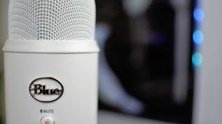 Download Blue Yeti Whiteout USB Microphone Unboxing! Video