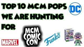 Download Top 10 MCM london Comic Con Pops That We Want To Get! Video