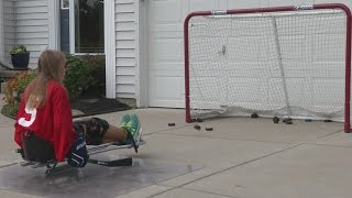 Download 13-year-old from Amherst makes National Sled Hockey Team Video