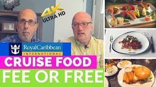 Download Royal Caribbean Food - Fee or Free - What's included and what's NOT Video