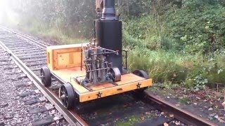 Download Steam Speeder Locomotive Railroad Engine Boiler Pump Whistle SOLD Video