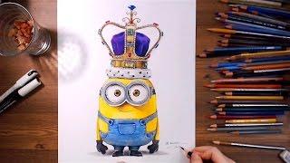 Download Minions : King Bob - Speed drawing | drawholic Video